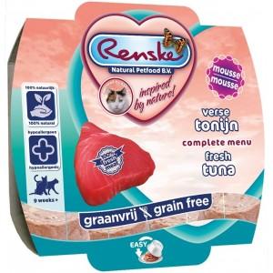 Renske Kat Vers Tonijn Mousse 100 gram Per 8