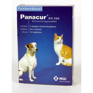 Panacur 250 Ontwormingsmiddel voor hond en kat