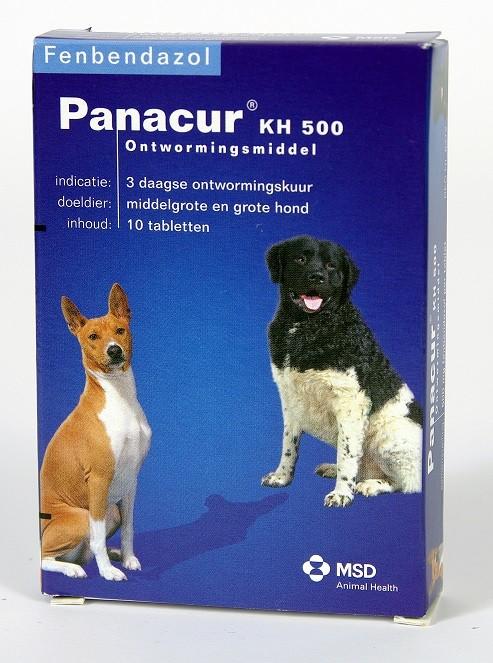 Panacur 500 Ontwormingsmiddel voor middelgrote en grote honden