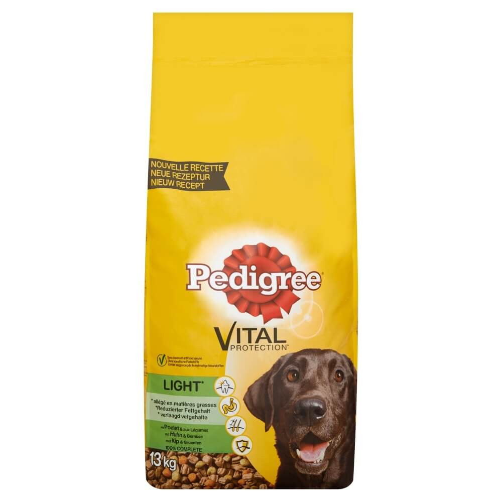 Pedigree Adult Light Kip & Groenten hondenvoer
