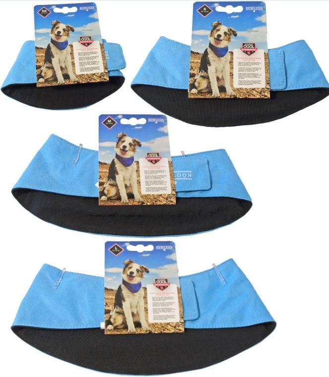 Doggy Cool Bandana Lichtblauw