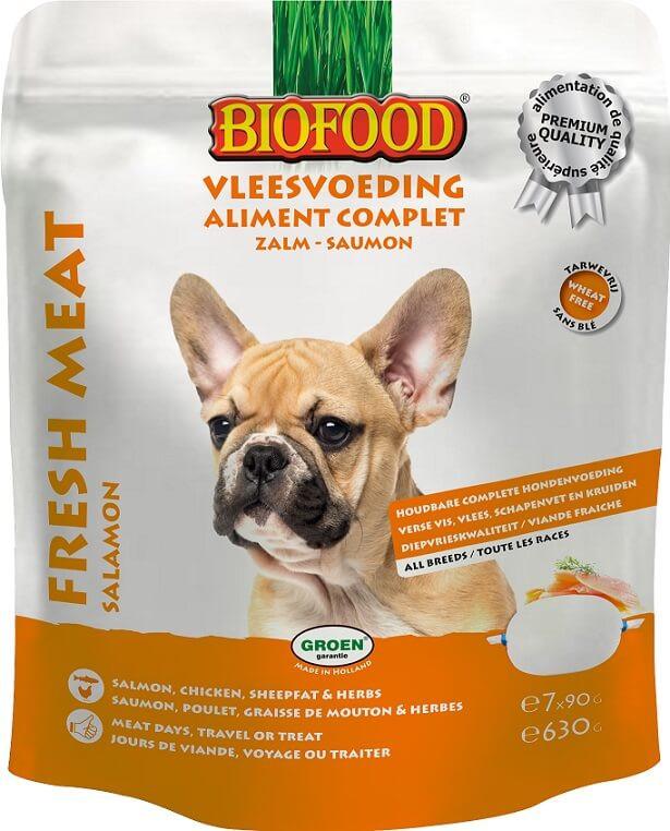 Biofood Vleesvoeding Zalm natvoer hond