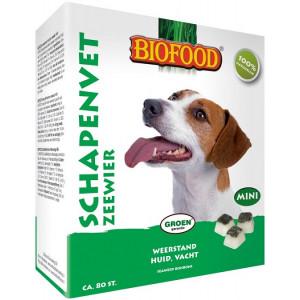 Hondensnacks Kauwproducten Biofood Biofood Schapenvet Mini Bonbons met zeewier Per verpakking