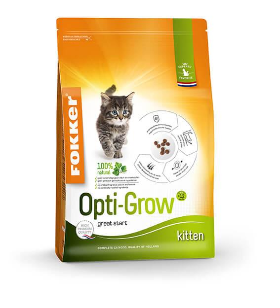 Fokker Opti-Grow kattenvoer