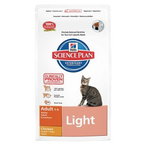 Hill's Adult Light Kattenvoer 10 kg