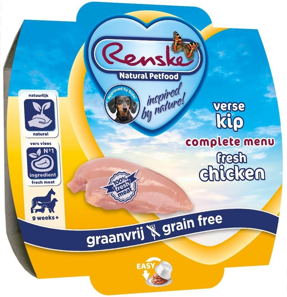 Renske Verse Kip Graanvrij 100 gram hondenvoer