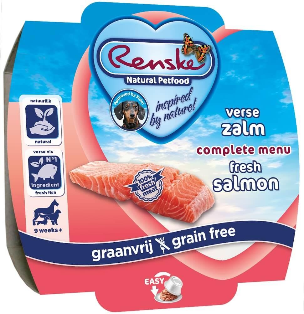 Renske Hond Vers Graanvrij Zalm 100 gram