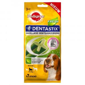 Dentastix Fresh Medium hondensnack tot 10-25 kg 4 x 7 sticks