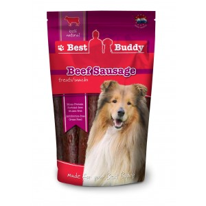 Best buddy Beef Sausage hondensnack 2 x 100 gram