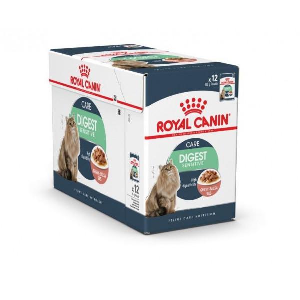 royal canin pouch digest sensitive goedkoop bij. Black Bedroom Furniture Sets. Home Design Ideas