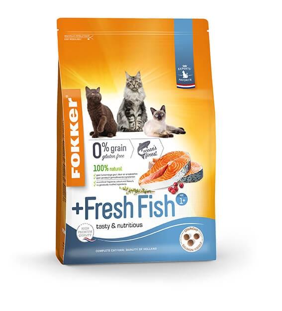 Fokker +Fresh Fish Adult kattenvoer