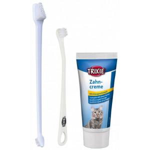 Trixie Tandenverzorgingsset voor de kat Per Set