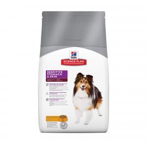 Hill's Adult Sensitive Stomach & Skin hondenvoer 2 x 12 kg