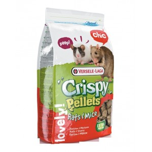 Versele Laga Crispy Pellets voor ratten muizen 1 kg Versele Laga Crispy Koopje