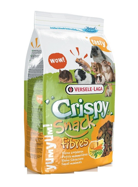 Versele-Laga Crispy Snack Fibres voor kleine zoogdieren OP is OP