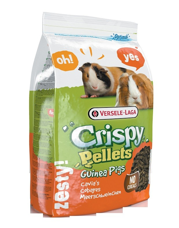 Versele-Laga Crispy Pellets voor cavia's