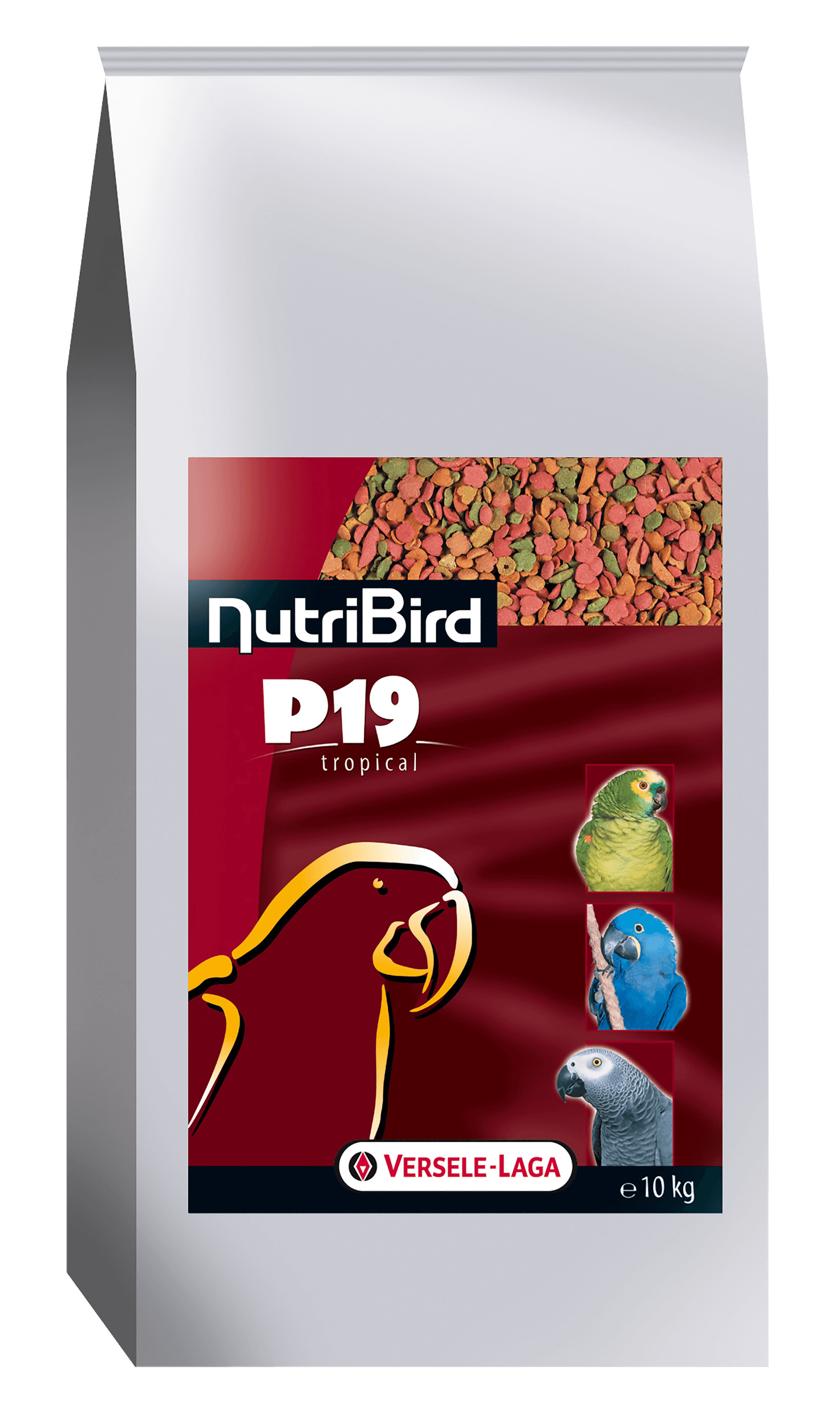 Nutribird P19 tropical kweek papegaaien