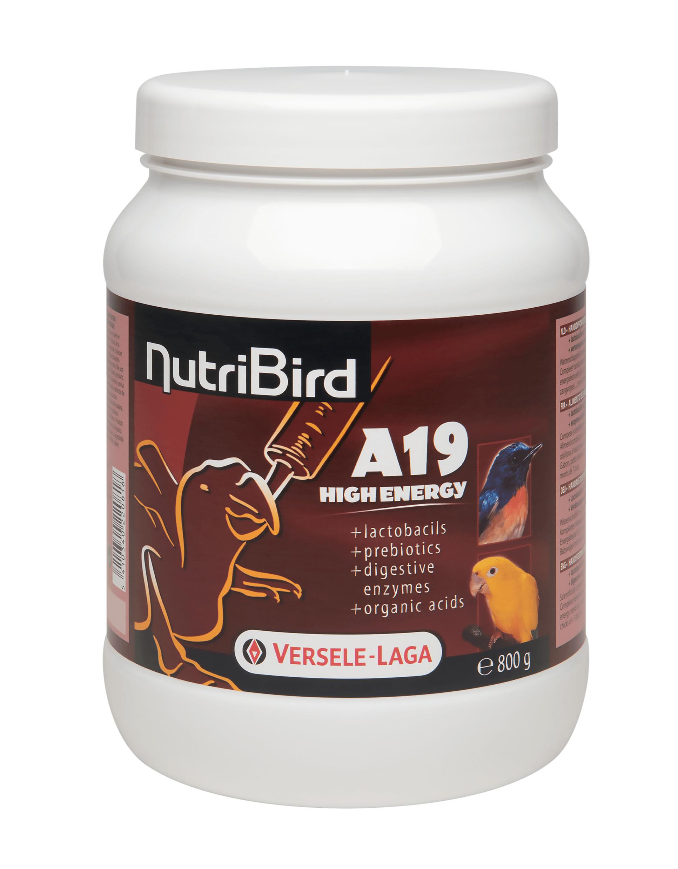 Nutribird A19 High Energy Opfokvoer voor vogels