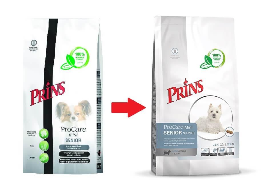 Prins ProCare Mini Senior hondenvoer