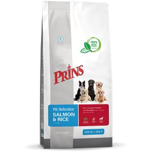 Prins Fit Selection Zalm & Rijst hondenvoer 15 kg