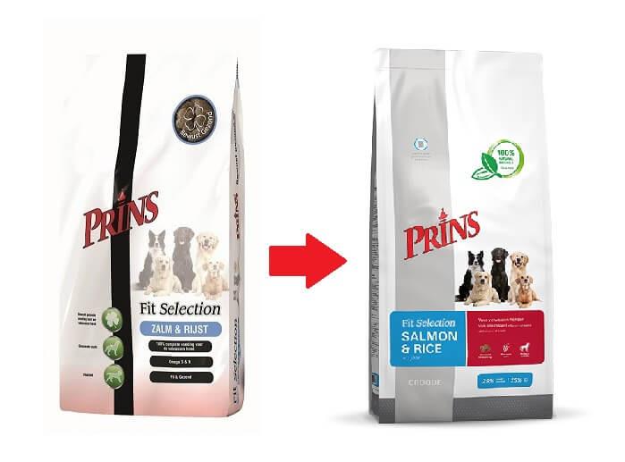 Prins Fit Selection Zalm & Rijst Hondenvoer