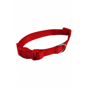 Nylon Halsband Rood voor honden S