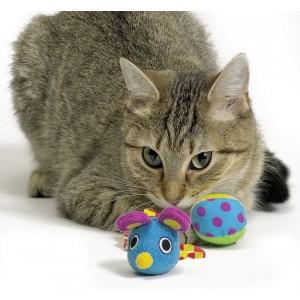 Petstages Slow Mouse voor katten