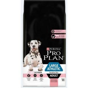 Pro Plan Optiderma Large Athletic Sensitive Skin Adult hond