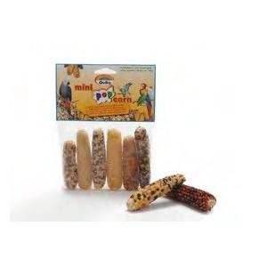 Quiko Mini Popcorn voor vogels/knaagdieren per verpakking