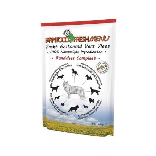 Farm Food Fresh Menu Rundvlees Compleet zakjes hond 300 gram