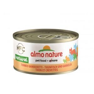 Almo Nature Natural Tonijn en Garnalen 70 gr