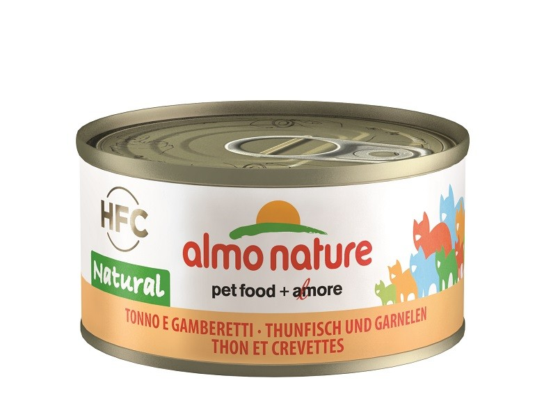Almo Nature Natural Tonijn en Garnalen 70 gr