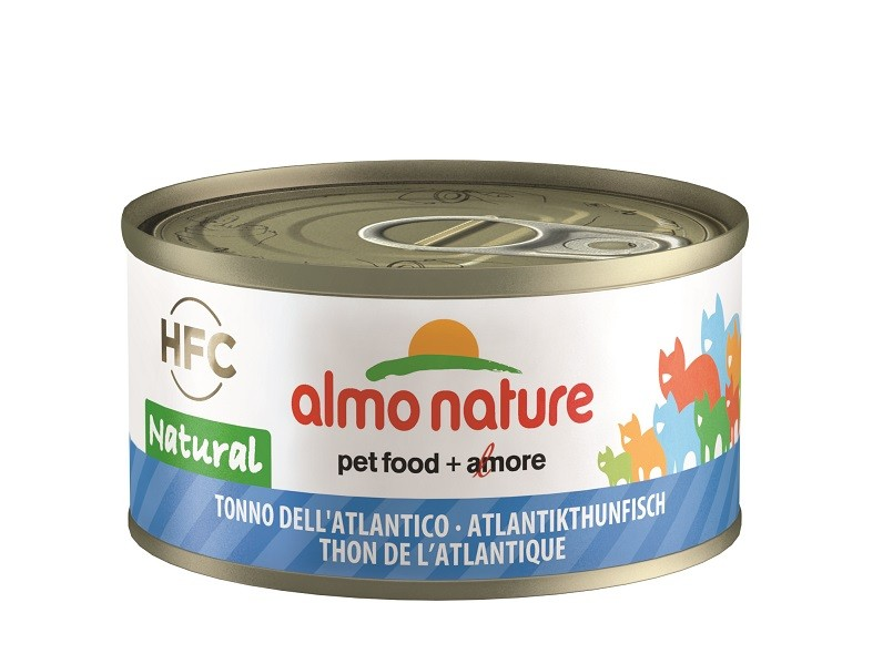Almo Nature Natural Atlantische Tonijn 70 gr
