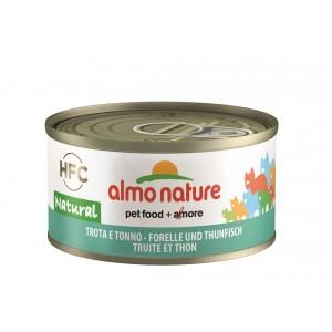 Almo Nature HFC Natural Forel en Tonijn 70 gr