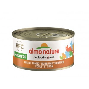 Almo Nature HFC Natural Kip en Tonijn 70 gr