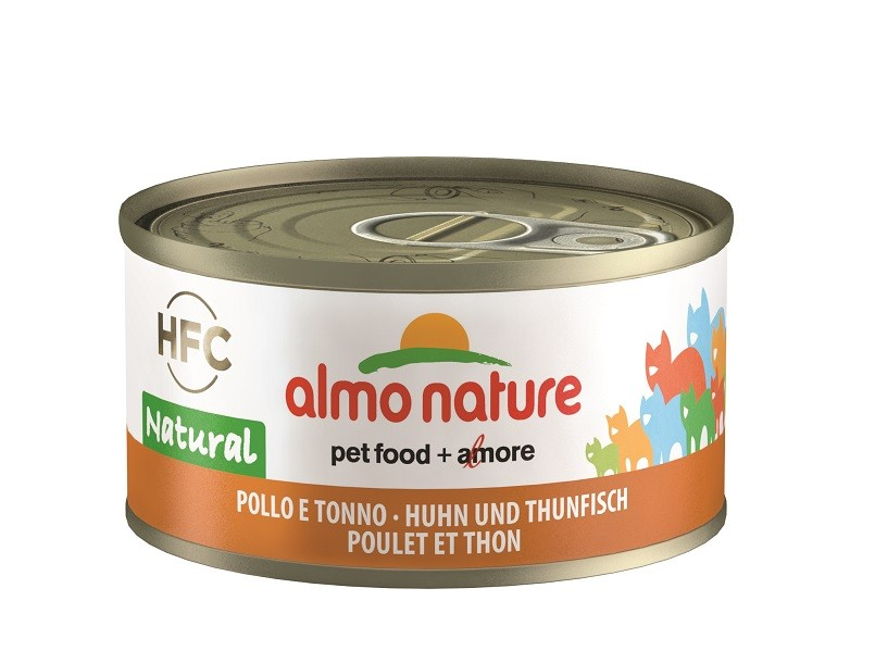Almo Nature Natural Kip en Tonijn 70 gr