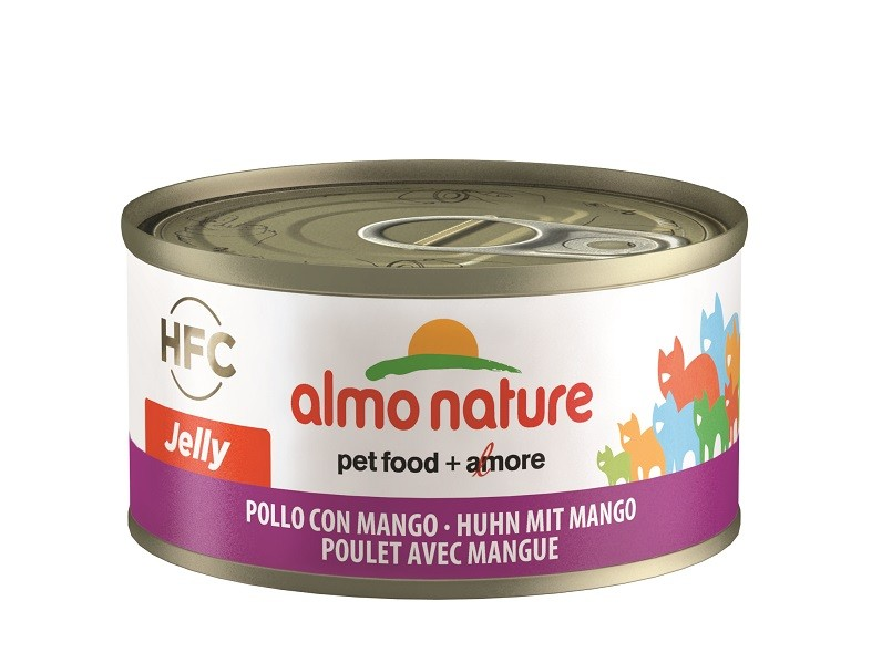 Almo Nature HFC Jelly Kip met Mango 70 gr