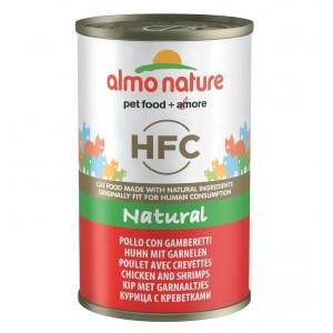 Almo Nature HFC Kip en Garnalen 140 gr