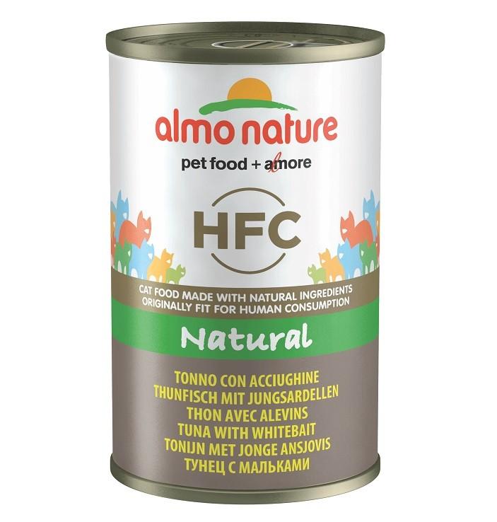 Almo Nature HFC Natural Tonijn met Jonge Ansjovis 140 gr