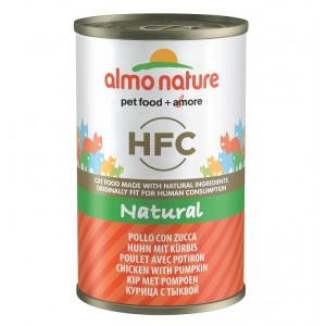 Almo Nature HFC Kip en Pompoen 140 gr Per 24 Almo Nature Nat kattenvoer Almo Nature