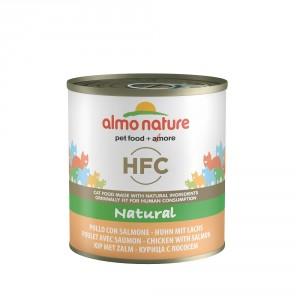 Almo Nature HFC Natural Kip & Zalm 280 gr