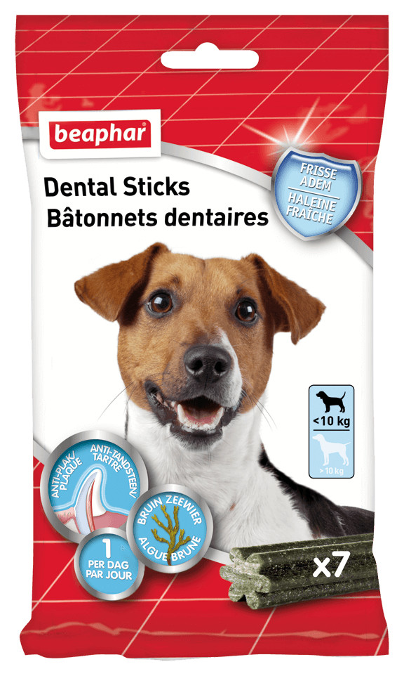 Beaphar Dental Sticks kleine hond