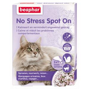 Kat Training voor de kat Beaphar Beaphar No Stress Spot On Kat 3 pipetten