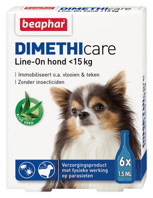 Beaphar Dimethicare Line-On (tot 15 kg) hond