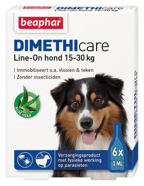 Beaphar Dimethicare Line-On (15 tot 30 kg) hond
