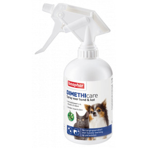 Beaphar Dimethicare Spray voor hond en kat 500 ml