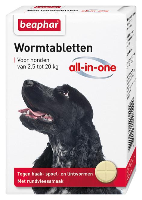 Beaphar Wormmiddel All-in-One (2,5 - 20 kg) hond