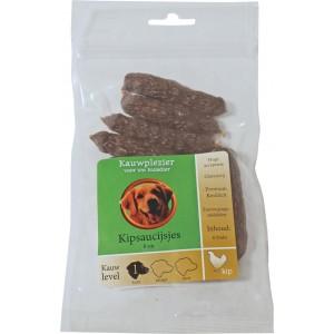 Hondennacks Koekjes Boon Boon Gedroogde Worstjes Kip voor honden Per 2 verpakkingen