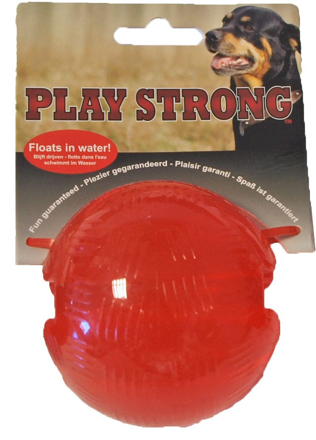 Playstrong Rubber Bal Groot voor honden