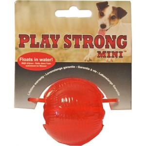 Playstrong Rubber Bal Mini voor honden Per stuk